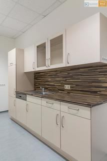 Küche 3-Raum Büro mit Klima und Küche im BIZ-Wels, TOP 1S17