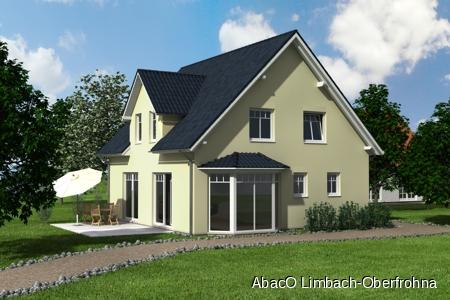 Visualisierung_Putz_Haustyp A 136 Ein Paradies für Ihre Familie - jetzt noch das Zinstief nutzen und Eigentum schaffen