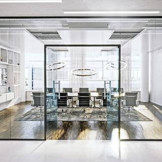 Innen2 Dynamisch im Münchner Osten ... Bürocampus hell, modern und neu revitalisiert