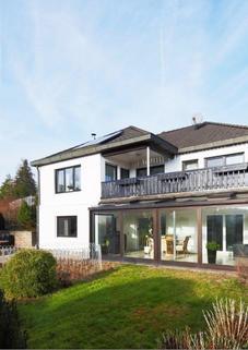 WG50002 Außenansicht Stilvolles Anwesen mit unverbaubarem Fernblick...