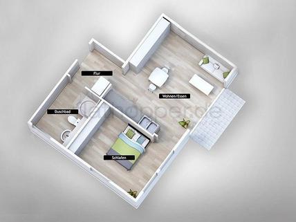 Bild 10 FLATHOPPER.de - Gemütliche 2-Zimmer-Wohnung mit Balkon in Bad Aibling
