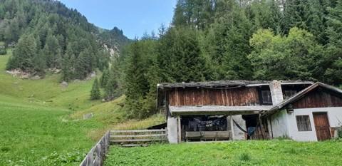 Wirtschaftsraum Geschlossener Hof eine Tiroler Rarität