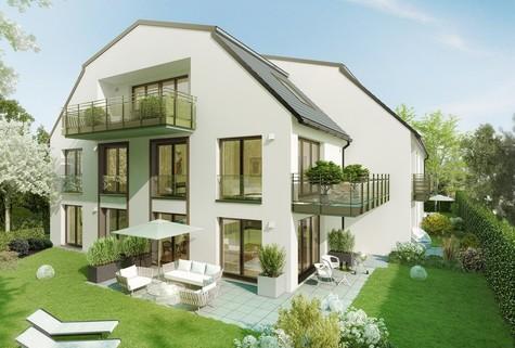 Illustration-Änderungen vorbehalten Traumhafte Dachgeschosswohnung im Erstbezug mit Aufzug!