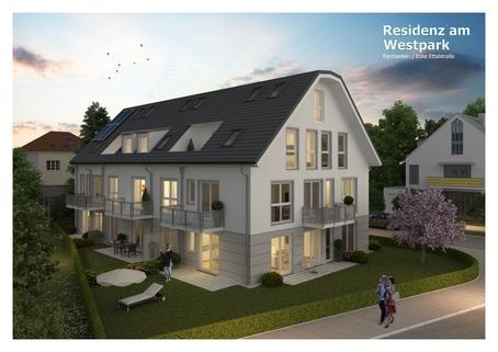 Bild 3 Neubau! Schöne Erdgeschosswohnung im Projekt Residenz Westpark! Baustart Frühjahr 2018.