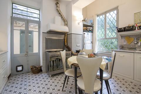 Cucina Villa Italien im Liberty-Stil
