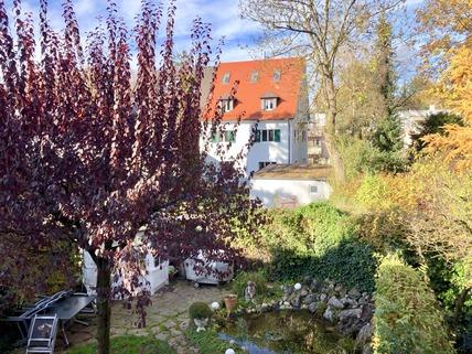 Garten Reserviert: Familienglück - Modernes Quattrohaus mit schön angelegtem Garten in bester, ruhiger Lage Harlaching