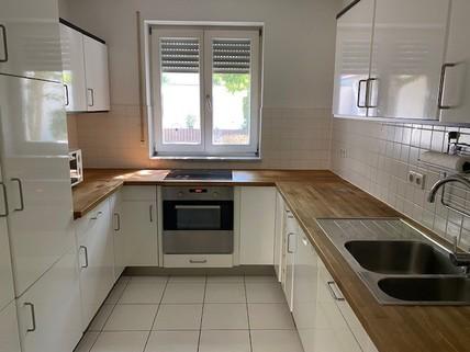 Küche Maisonettewohnung mit Gartenanteil, Terrasse, Balkon u. TG-Stellplatz in ruhiger Lage, Obermenzing
