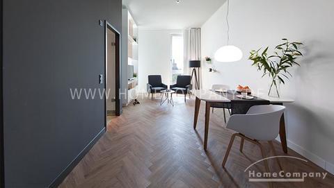 Wohn-/Schlafbereich Tolles möbliertes Apartment in der Parkstadt Schwabing