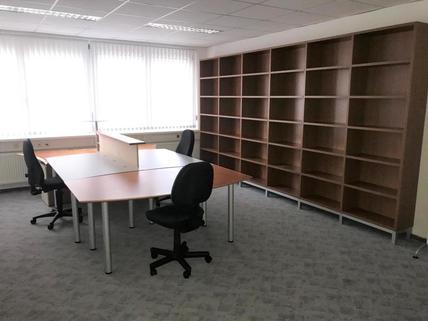 Foto3 Schönes möbliertes 3-Raum Büro mit Küche und Archiv im GTZ-Wels, TOP 81