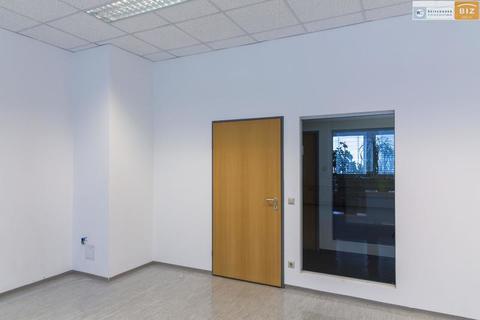 Eingang mit Glas Helles 1-Raum Büro im BIZ-Wels, TOP 2N15