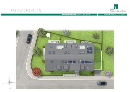 Bild 2 Neubau! Schöne Erdgeschosswohnung im Projekt Residenz Westpark! Baustart Frühjahr 2018.