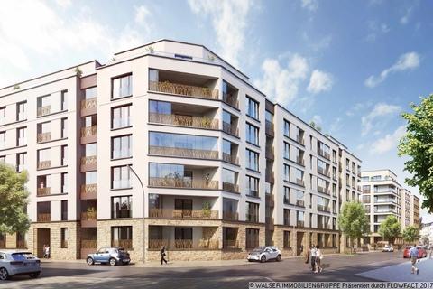 Auenansicht Ost Kompakte schnittige 2-Zimmer-Wohnung mit Loggia