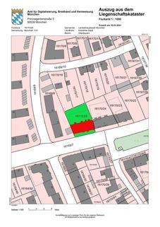Lageplan zwei Tiefgaragenstellplätze in München-Giesing