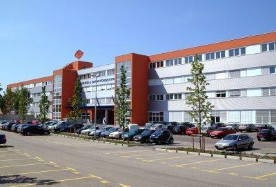 BIZ Aussenansicht.jpg Schönes 1 Raum Büro für 2 im BIZ Wels, TOP 1N29