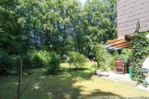 Blick von Süd-Seite in den Garten Gartenwohnung mit Hobbyraum: Ruhig. Grün. Isarnah.