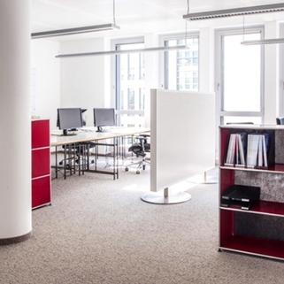 Innen5 Repräsentative Büros in chicem Neubau