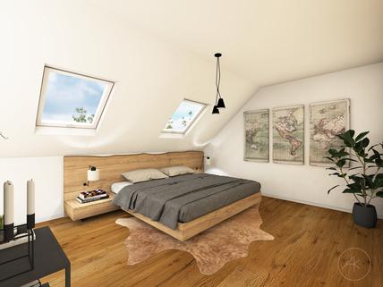DG Schlafen Visualisierung Verkauft - Hier verwirklichen Sie Ihre Wohnträume