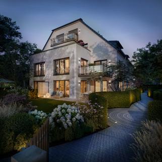 Illu Straßenseite Neubau - großzügige Maisonnettewohnung in super Lage