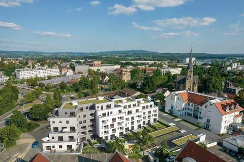 Ansicht Luftbild 2 StattHaus - Leben im Herzen Forchheims