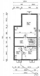 Plan Kellergeschoß Doppelhaushälfte Gunskirchen Sofort beziehbar Doppelhaushälfte neuwertig mit Pool und Garage