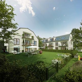 Illustration-Änderungen vorbehalten Sonnige Dachgeschosswohnung im Neubau