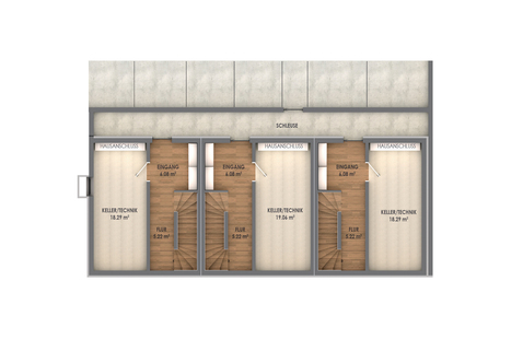 Untergeschoss Geräumige, attraktive Neubauhäuser im Labertal