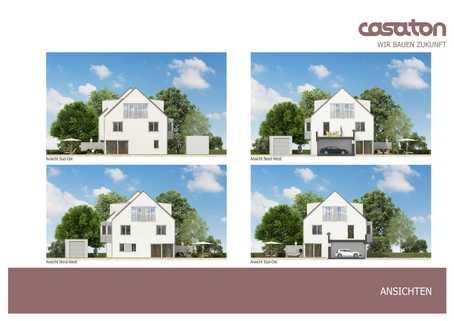 Ansichten Bestes Waldtrudering: Doppelhaushälfte mit exklusiver Ausstattung in ruhiger Lage! Neubau!