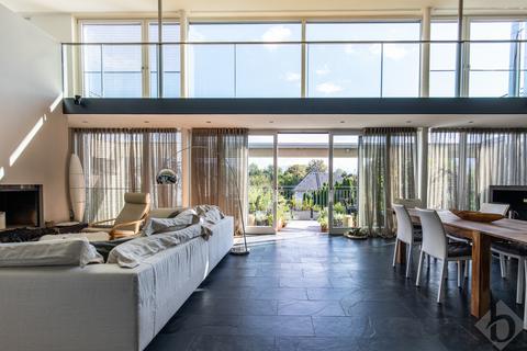 Wohnzimmer 1 Loftartiger Wohntraum mit Galerie in exklusiver Lage Aigen
