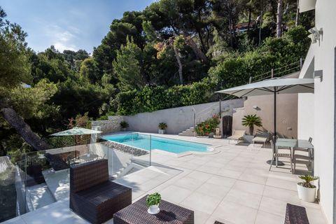 Pool area Wunderschöne zeitgenössische Villa in Andora - ITA