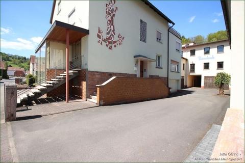 Außen_Seitenansicht_Hof und Lager Wohn- und Geschäftshaus mit Laden - und Lagerflächen auf 2 Etagen mit zusätzlichen Garagen!