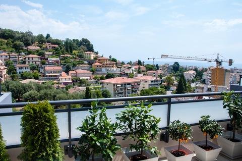 Bild 6 Franz. Riviera / Monaconähe: hochwertig möbliertes Penthouse mit Meerblick zu verkaufen