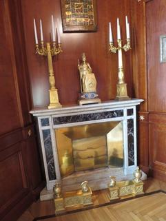Beispiel Kamin Bestlage ROM: exklusive Altbauwohnung im herrschaftlichen Stil Nähe Villa Borghese zu verkaufen