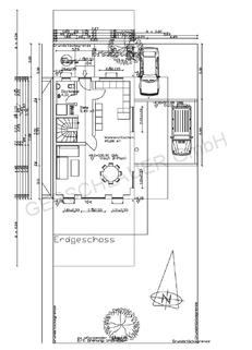Grundriss EG Schicke Doppelhaushälfte mit schönem großem Garten