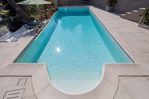 Pool Wunderschöne zeitgenössische Villa in Andora - ITA