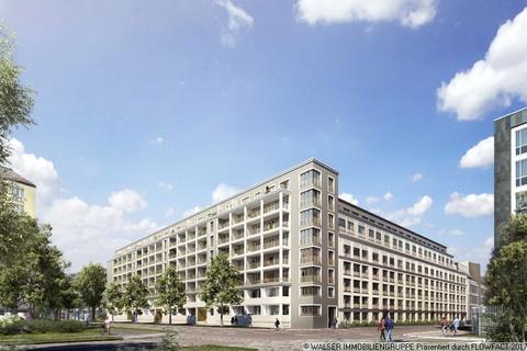 Eckansicht bei Tag Wohnkultur mit Lebensstil – großzügige 3-Zimmer-Wohnung mit 2 Bädern in Bogenhausen