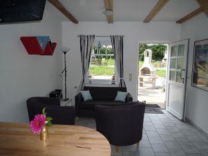 Wohnzimmer 4 Ostsee-Ferienwohnungen als Anlageobjekt oder Eigennutzung in Wittenbeck/Kühlungsborn.