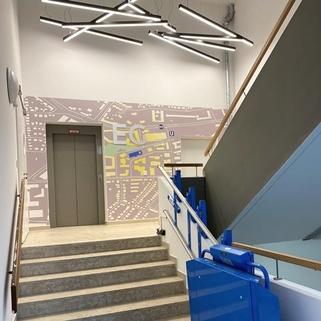 Treppe1 Stylische Büros ... Direkt an der U-Bahn