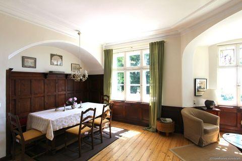 Essbereich Absolute Rarität-Charmante denkmalgeschützte Villa in schöner Lage am Westufer des Starnberger Sees