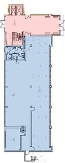 Grundriss (MB blau) STOCK - Büroflächen in der Nähe zur S-Bahn