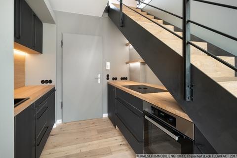Küche Dachterrassen-Wohnung mit extravaganter Ausstattung in optimaler Lage