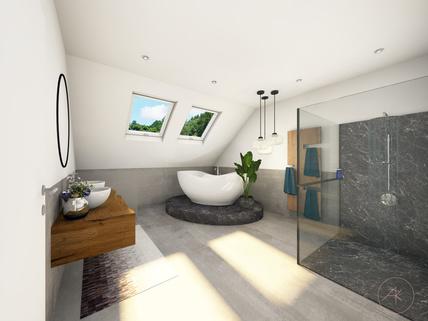 Bad DG Visualisierung Verkauft - Hier verwirklichen Sie Ihre Wohnträume