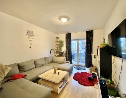 Wohnzimmer Ruhig gelegene 2-Zimmer-Wohnung mit Balkon in Oberhausen