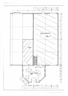 Grundriss Moderne Lager/Logistikhalle inkl. Empfang, Sanitär & LKW Parkplätze in Autobahnnähe A9 & A38