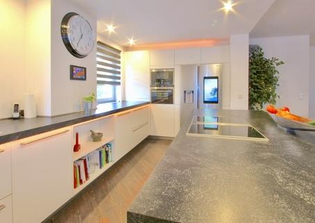offene Küche Ideale Kombination Wohnen und Arbeiten - klassisches Einfamilienhaus in schöner ruhiger Lage