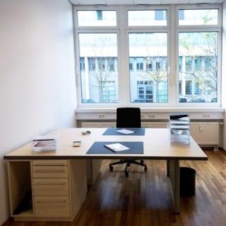 Büro1 Terrassen ... Begrünte Innenhöfe ... Schicke Büros ... Was will man mehr?