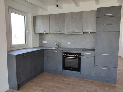 Marken-Einbauküche Erstbezug: Dachterrassenwohnung mit Galerie und exkl. Marken-Einbauküche!