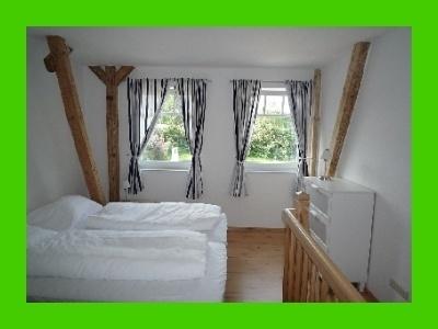 Schlafzimmer 1 möblierte Wohnung auf Zeit ab Mitte September 2017  an der Ostsee frei!