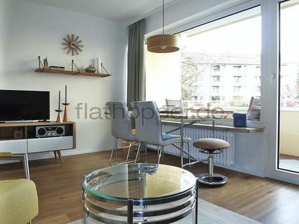 Bild 4 FLATHOPPER.de - Hochwertiges Apartment mit Balkon - auch für Homeoffice - in Schwabing - Freimann