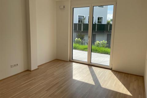 Kinder- oder Gästezimmer Eleganter Minimalismus!<br /> <br /> 4-Zimmer-Gartenwohnung <br /> in modernem Architektur-Ensemble