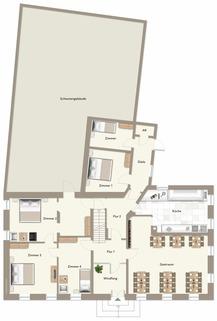 Erdgeschoss Ehemalige Gaststätte mit Nebengebäude in Uehlfeld... Handwerker und Sanierer aufgespasst!